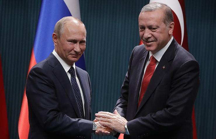 Ердоган и Путин очи в очи ќе ја решаваат кризата во Сирија