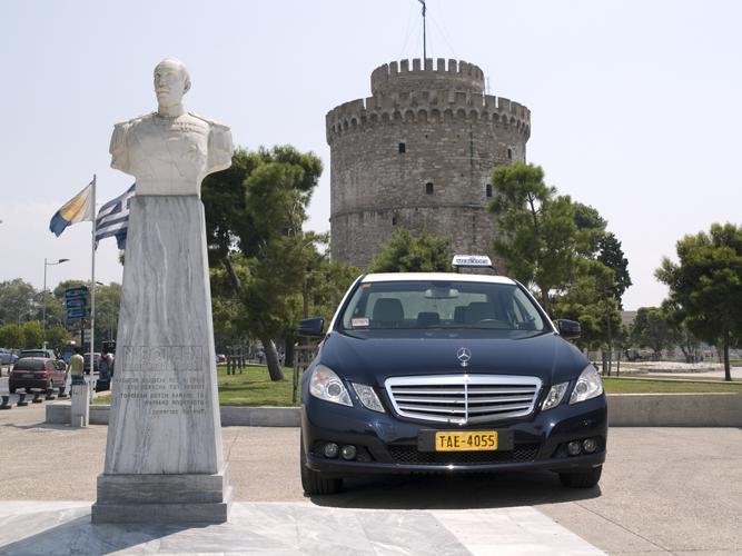 Солун воведува електрично такси
