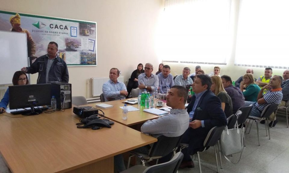 Рудник САСА применува најсовремени практики и стандарди за заштита на животната средина