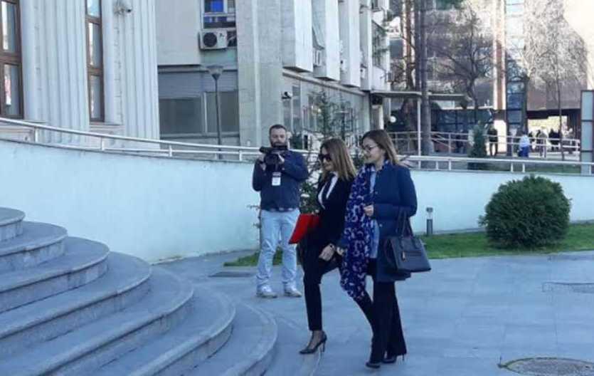 Јанкуловска спроведена во затворот Идризово
