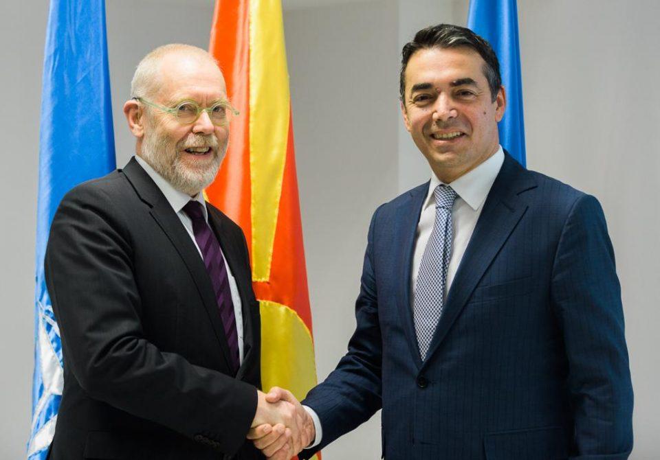 Димитров: Се договоривме дека ќе направиме се, заедно да го прославиме почетокот на пристапните преговори