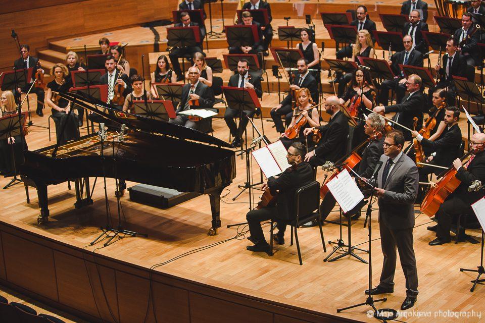 Деветтата симфонија на Бетовен на концертот на Филхармонија