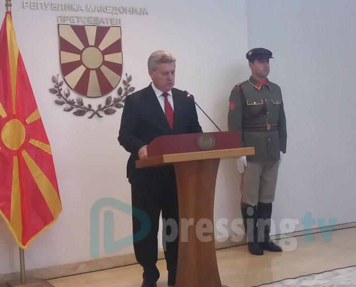 Ѓорге Иванов:Македонија го заслужи местото во НАТО