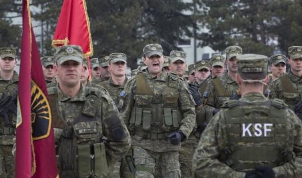 САД веќе ја вооружува новата косовска војска