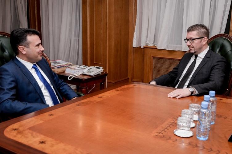 Мицкоски не сака да губи време за лидерска средба со Заев