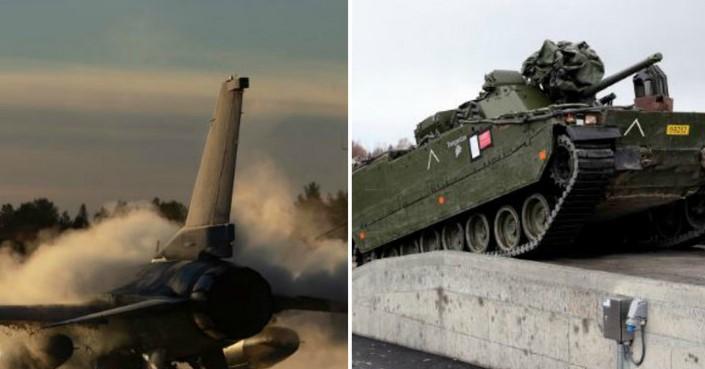 НАТО вежби на прагот на руската граница (ВИДЕО)