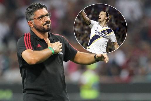 Гатузо нема да брза со Ибрахимовиќ, фокусиран е на актуелниот состав на Милан