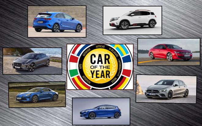 Ова се финалистите за автомобил на годината во Европа