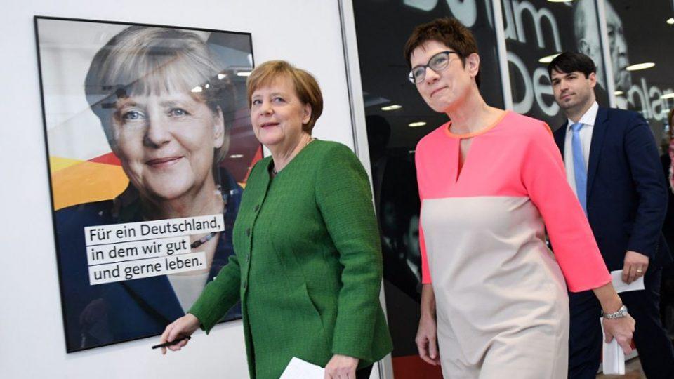 Анкета: 70 отсто Германци сметаат дека наследничката на Меркел не е способна за функцијата канцелар