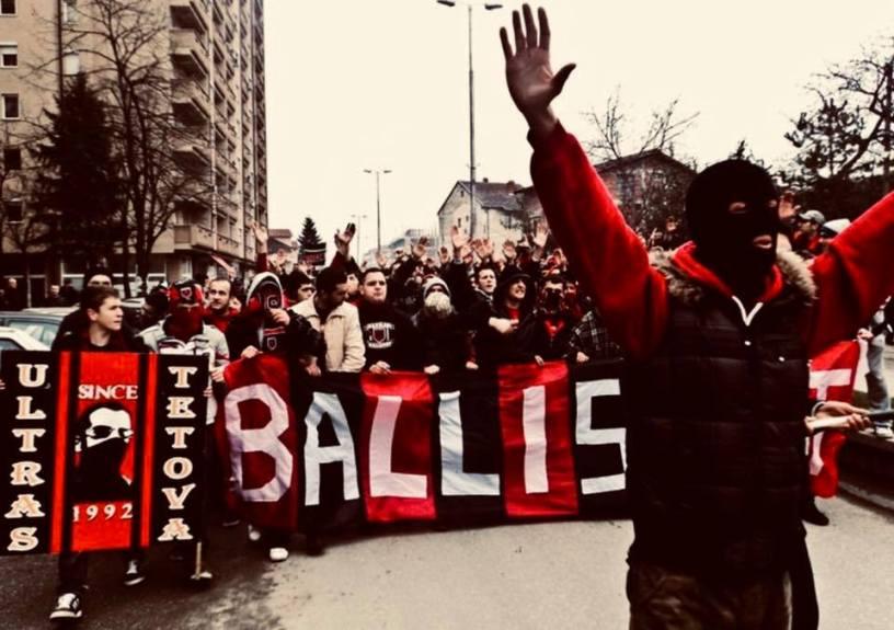 Балистите ја честитаа победата на својата, албанска репрезентација (ФОТО)