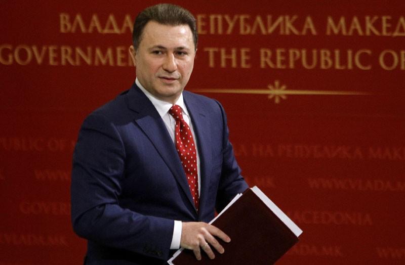 Оставката од Груевски стигна во Собранието преку нотар