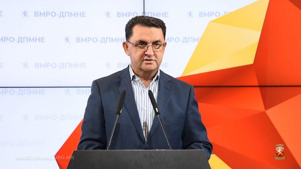 Славески: Нејасна ми е изјавата на Заев дека министерот за финансии се менува бидејќи 2019 година е година на економијата