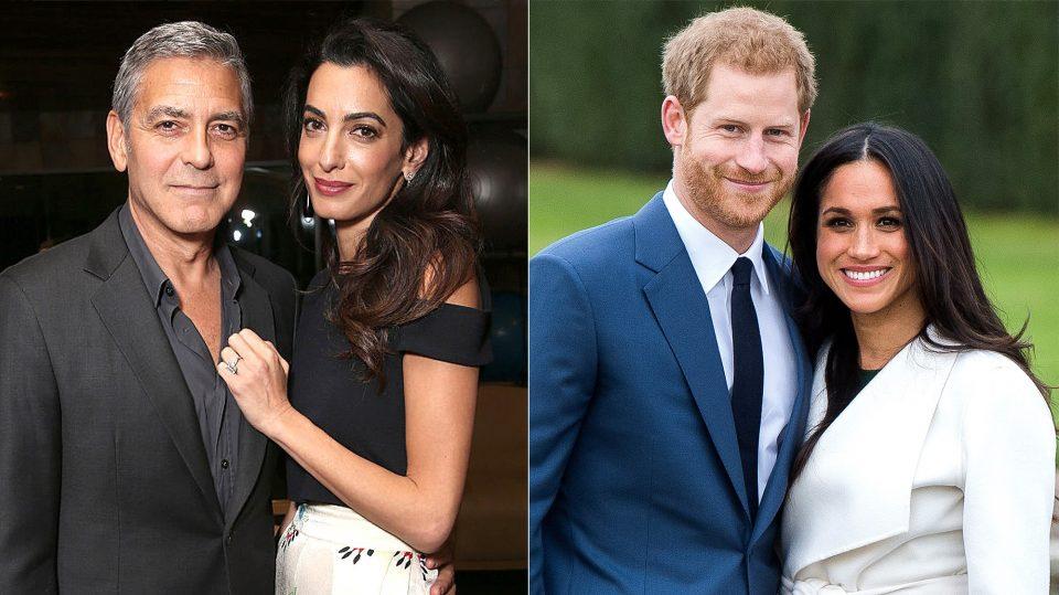 Џорџ и Амал Клуни ќе бидат кумови на бебето на Хари и Меган