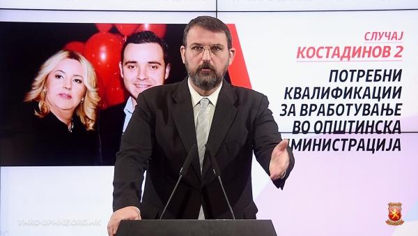 Стоилковски изнесе сомнежи за намерни стечаи во фирми на семејството Костадинови