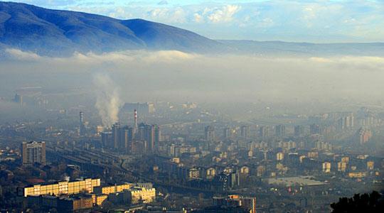 Западен Балкан е европски првак во загаденост на воздухот