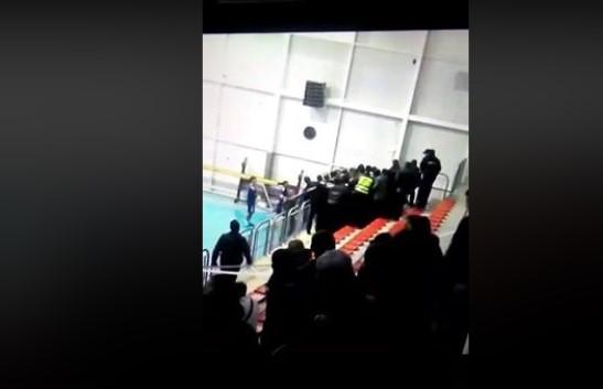 Како полицијата тепаше охридски навивачи во Прилеп (ВИДЕО)