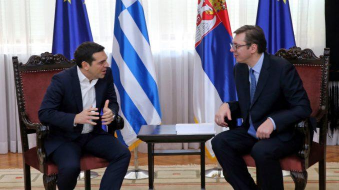 Состанок на Вучиќ и Ципрас утре во Белград