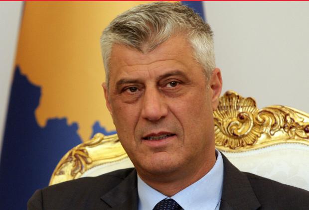 Тачи ја пофали резолуцијата против Србија за воени злосторства