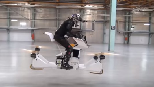 Велосипед во воздух (ВИДЕО)