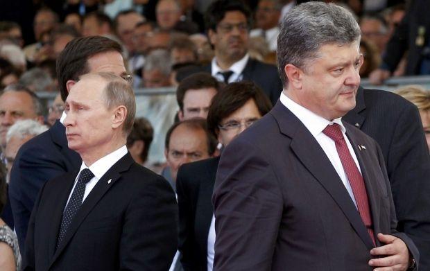 Порошенко ѕвони, Путин не се јавува