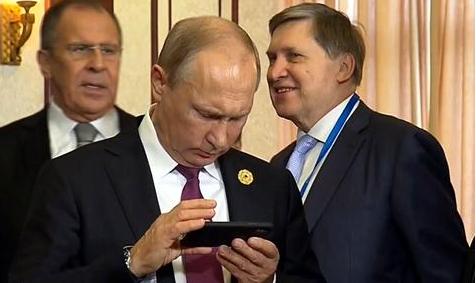 Смартфоните на светските лидери