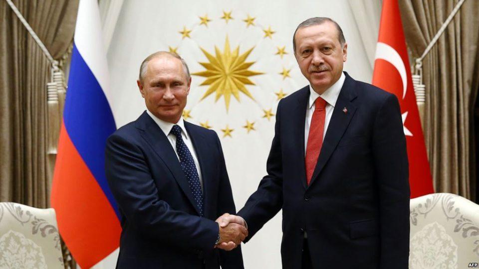 Путин: Ердоган има голема заслуга за добрите руско-турски односи