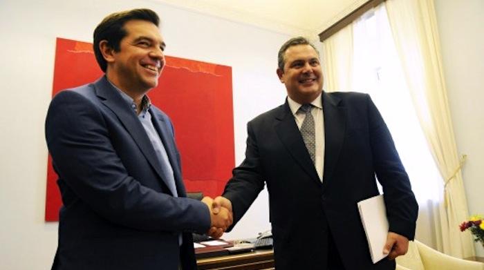 Средба Ципрас -Каменос за иднината на грчката Влада
