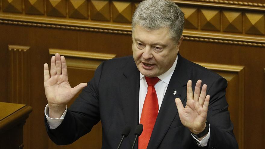 Само што си замина: Кривична пријава за Порошенко