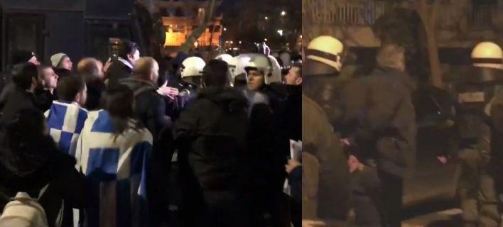 Протести и тепачки со полицијата во Солун
