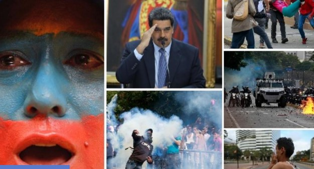 Венецуела во мрак, луѓе умираат, а Гваидо повикува на протести