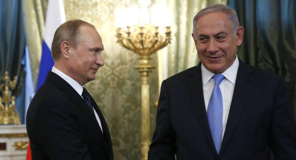 Путин и Нетанјаху разговараа за ситуацијата во Сирија