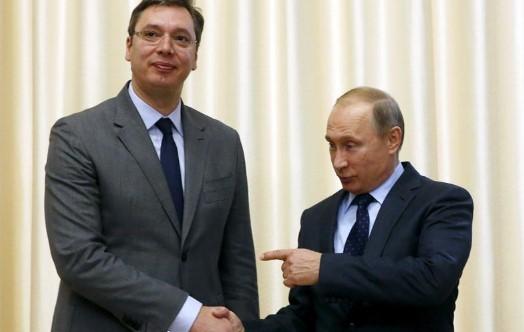 Вучиќ ќе го посети Путин во Москва