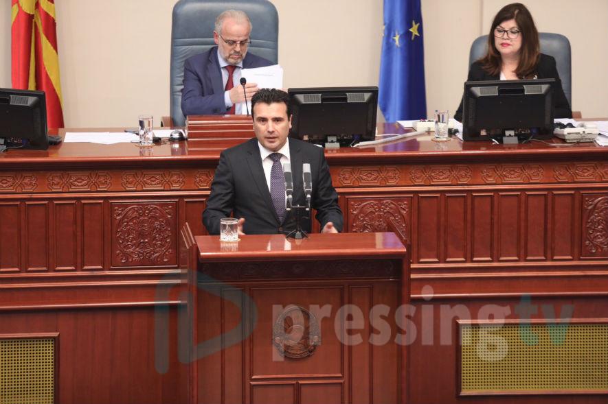Заев: Им честитам на граѓаните и на пратениците за преземената одговорност