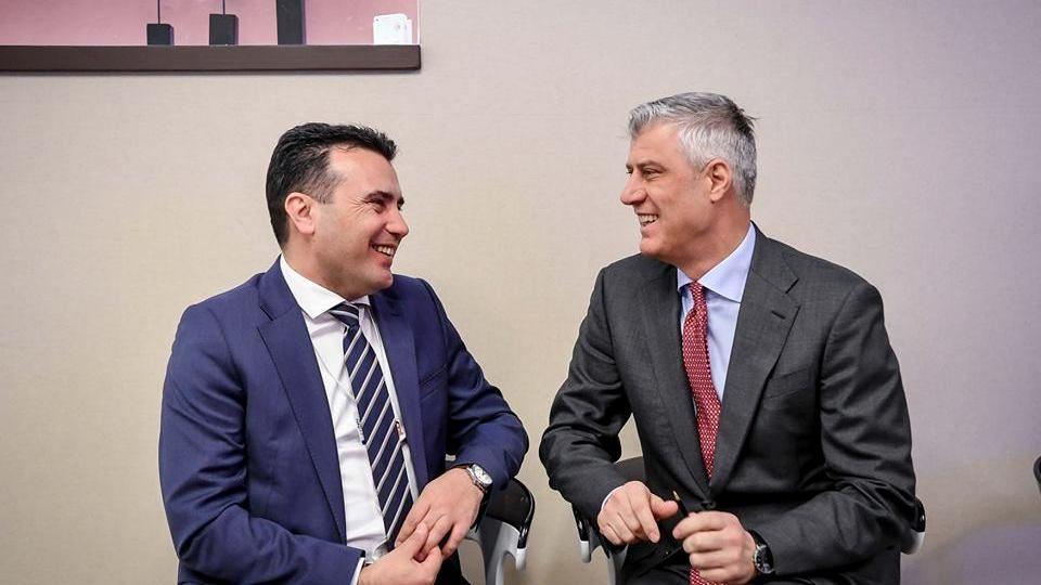 Заев му се извинил на Тачи за разговорот со руските комичари за поделба на Косово (ВИДЕО)