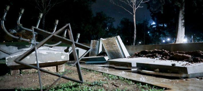 Осквернавени Еврејските гробишта во Солун