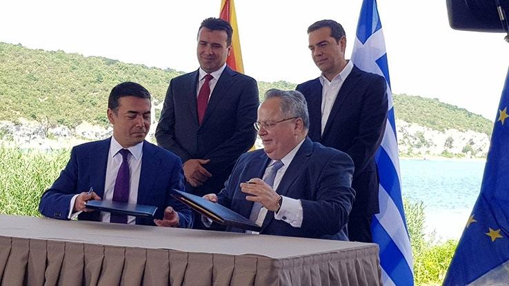 """СИРИЗА и """"посака"""" среќно враќање во реалноста на Нова Демократија за Договорот од Преспа"""