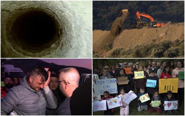Единаесет дена битка да се извади од 110-метарска дупка 2-годишниот Хулен