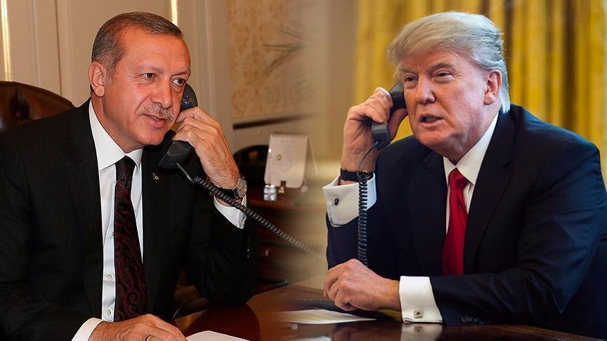 Трамп и Ердоган ја разгледуваат можноста за создавање безбедносна зона во Сирија