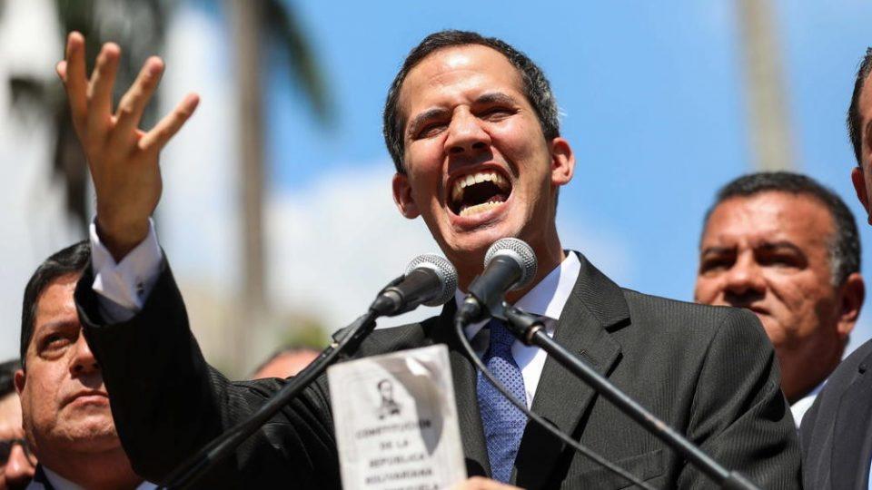 Грција го признава Гваидо за претседател на Венецуела