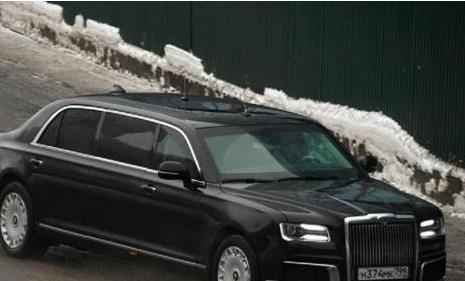 Автомобилот на Путин издржа и на -40 степени Целзиусови!