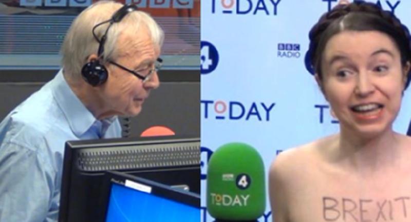 Економистка од Кембриџ се соблече гола на интервју во Би-би-си