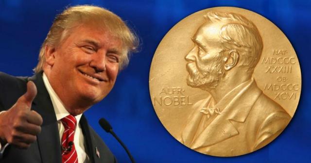 Доналд Трам вели дека ја заслужува Нобеловата награда за мир