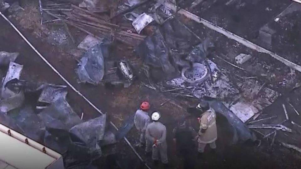 Десетина загинати во пожар во тренинг центарот на Фламенго (ФОТО)