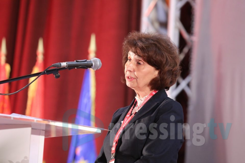 ВО ЖИВО: Поднесување на кандидатурата за претседател на Гордана Силјановска – Давкова