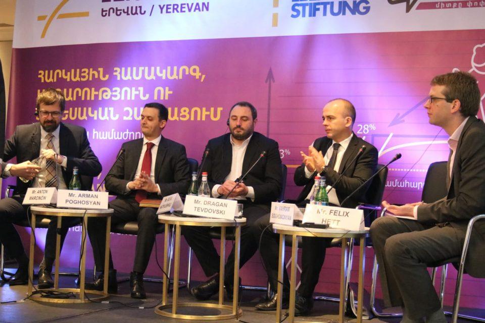 Според Тевдовски прогресивниот данок го поттикува економскиот развој