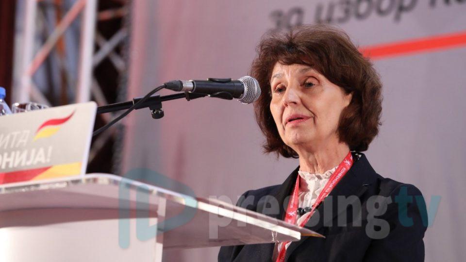 Силјановска: Ќе се борам да бидам претседател на Република Македонија (ВИДЕО)