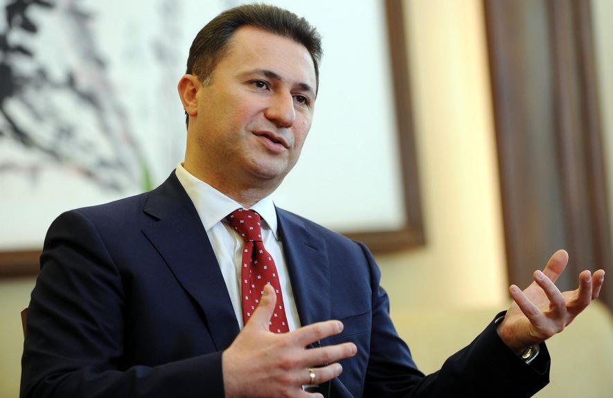 Груевски го честита приемот во НАТО и споделува предлози за излез од кризата