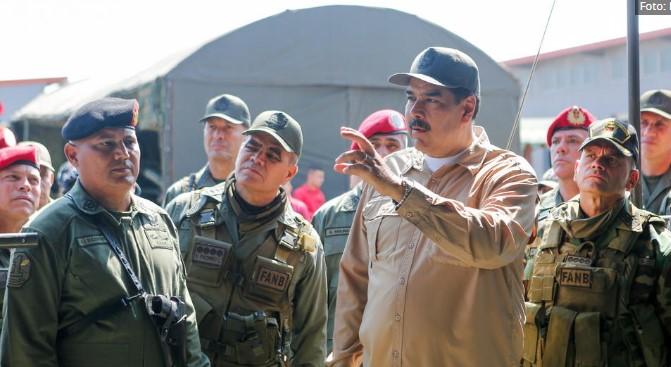 Венецуелската војска подготвена да го брани Мадуро (ВИДЕО)