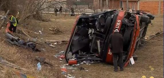 Притвор и за возачот на автобусот кој се преврте кај Ласкарци