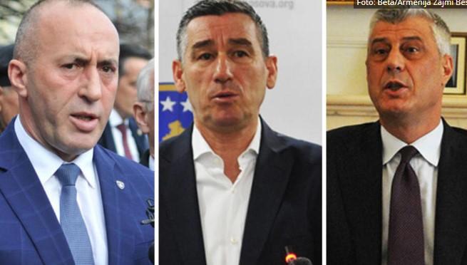 Тачи, Харадинај и Весели работат за три различни разузнавачки служби